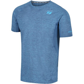 Zone3 Power Burst T-shirt Heren, royal blue/sky blue